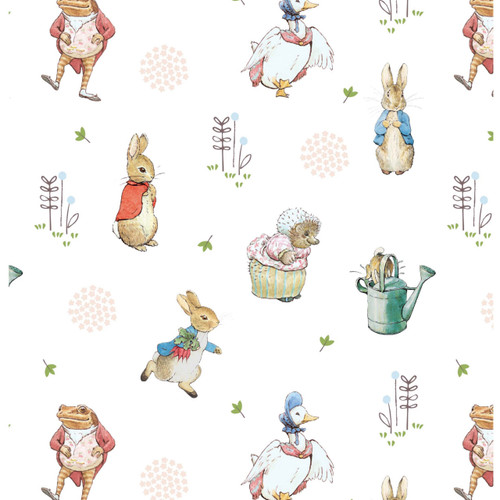 Peter Rabbit Quilting Cotton - Peter Rabbit and Friends Quilting Cotton