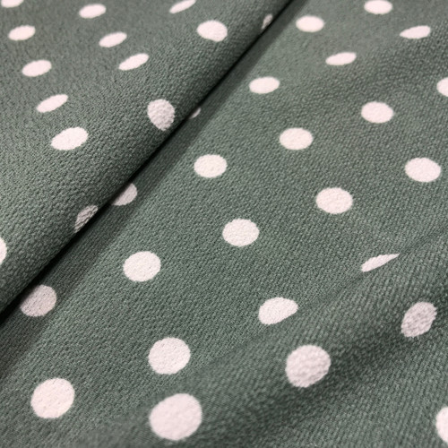 Lady McElroy Tea Party Polka in Fern Green