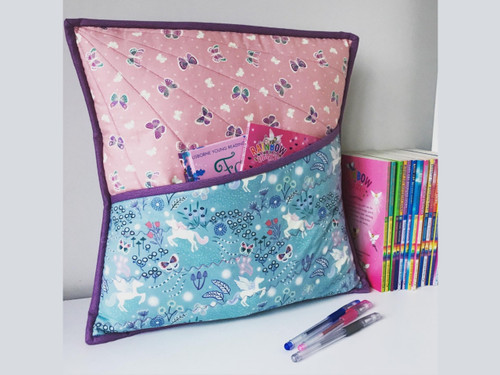 Quilted Book Cushion Sewing Workshops