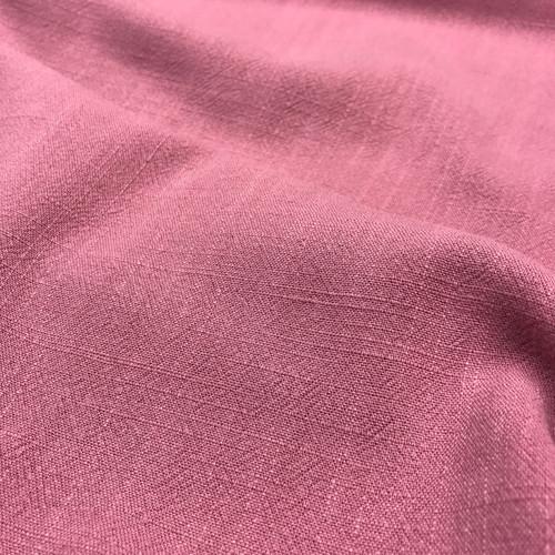 Linen Viscose in Vintage Pink Dressmaking Fabric