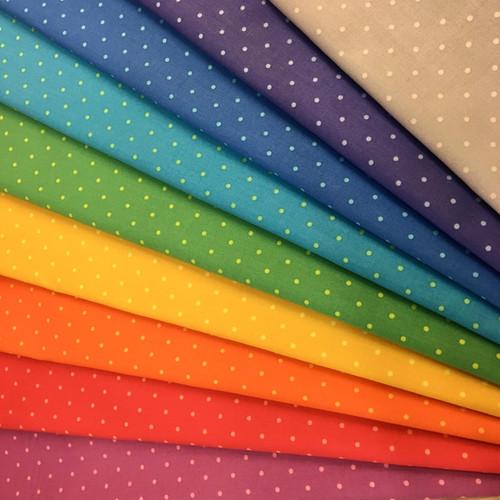 Sweet Shoppe Two Andover Fabrics spotty fabric