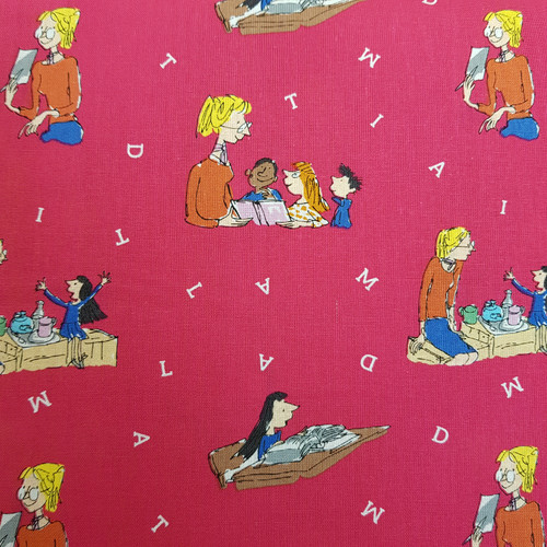 Roald Dahl Matilda Quilting Cotton Fabric