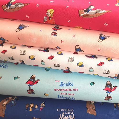 Roald Dahl Matilda Quilting Cotton Fabric