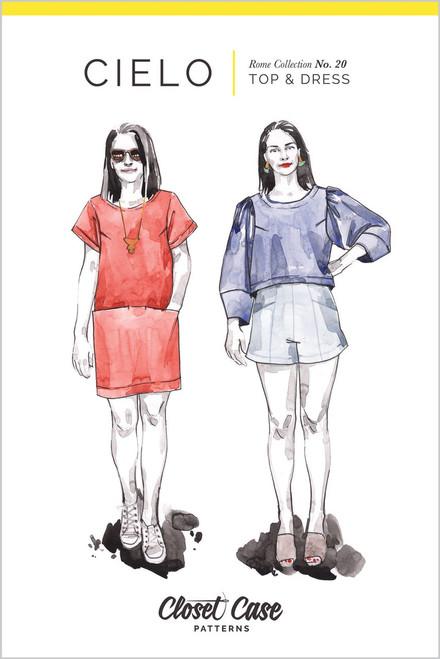 Cielo Top & Dress by Closet Case Pattern