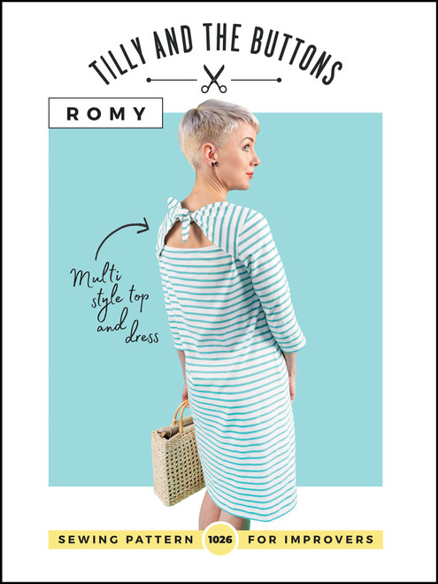 Romy Dress and Top Pattern by Tilly and The Buttons