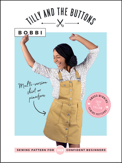 Bobbi Skirt and Pinafore Pattern by Tilly and The Buttons