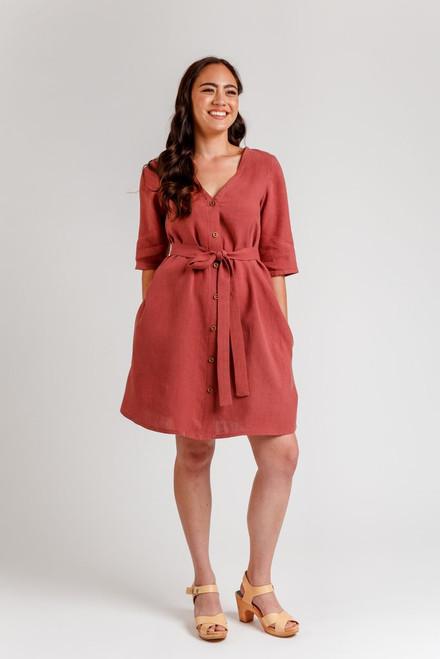 Darling Ranges Dress Pattern by Megan Nielsen