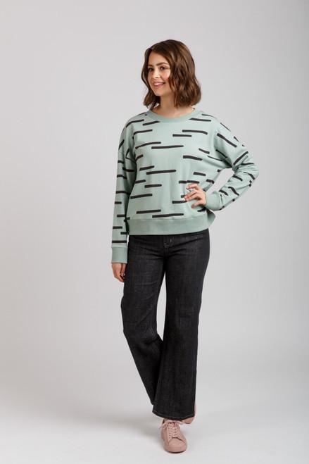 Jarrah Sweater Sewing  Pattern by Megan Nielsen