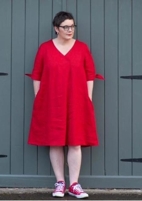 Emilia Dress Pattern by Sew Me Something