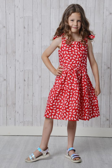 Girl's Bella Dress Pattern by Emporia Patterns