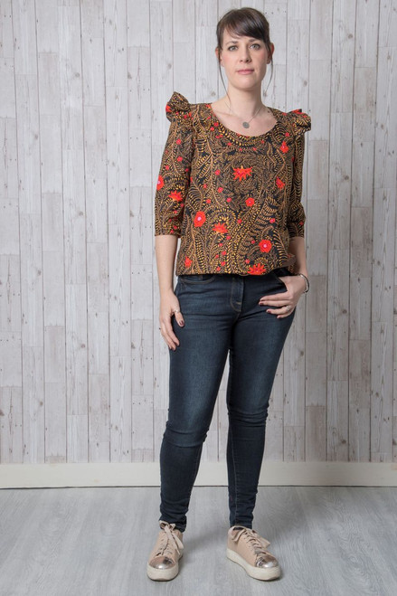 Iris Top Pattern by Emporia Patterns