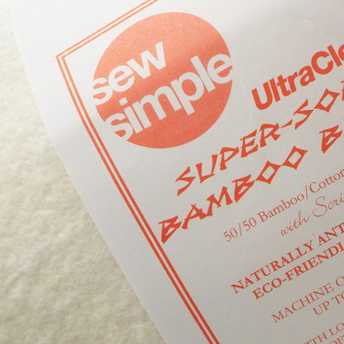 Wadding 50/50 Bamboo/Cotton Sew Simple Ultra Soft