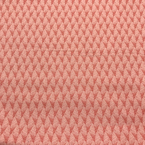 Thalassophile by Lewis & Irene - Shells in Coral Pink - 0.6m