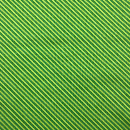 Sweet Shoppe Candy Stripe in Kelly Green