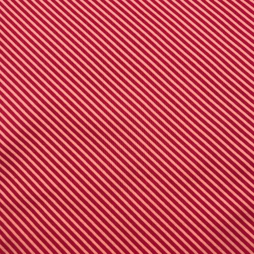Sweet Shoppe Candy Stripe in Ruby
