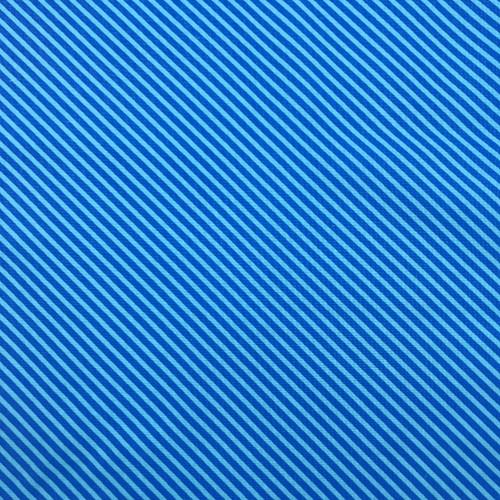 Sweet Shoppe Candy Stripe in Electric Blue