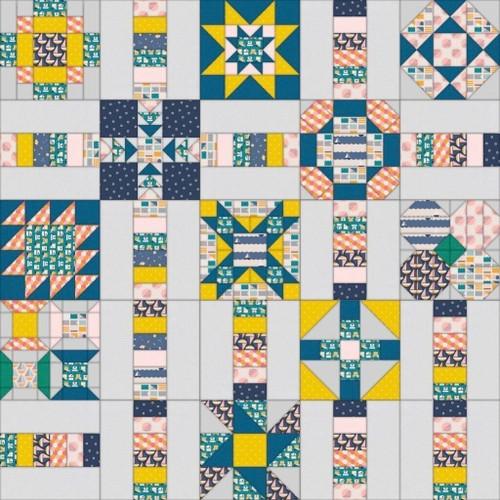 FREE Sunshine Island Quilt Sew Along- Block 6
