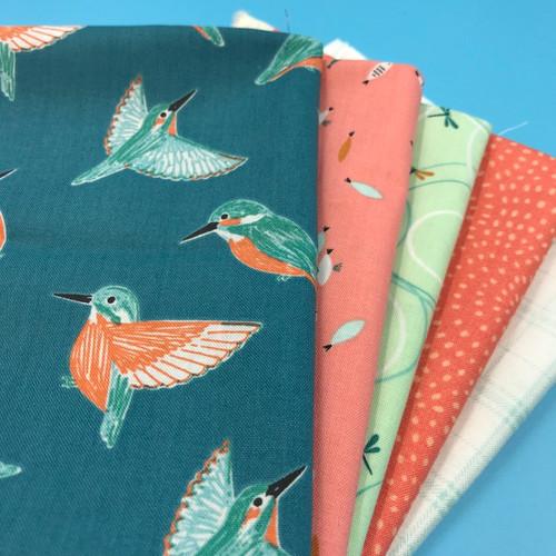 Kingfisher Fat Quarter Bundle