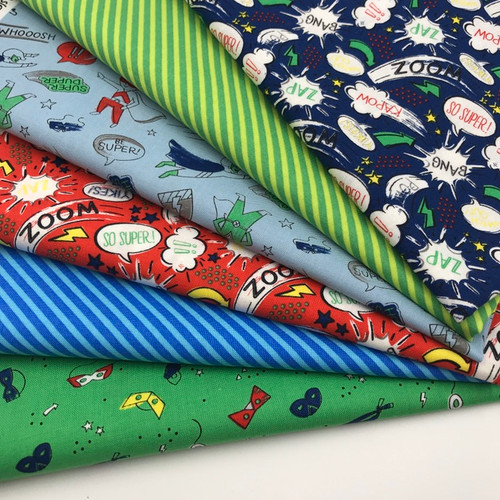 Half Pint Heros Fat Quarter Bundle