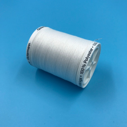 Gutermann Thread - 1000m - White
