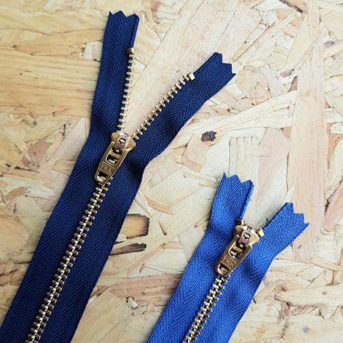 YKK metal jeans zip