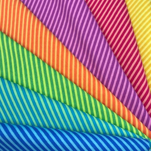 Sweet Shoppe  Candy Stripe Fat Quarter Bundle