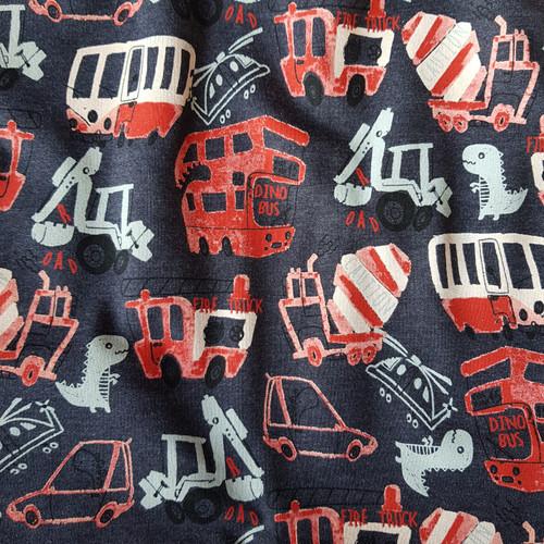 Dino Traffic Sweatshirt in Charcoal