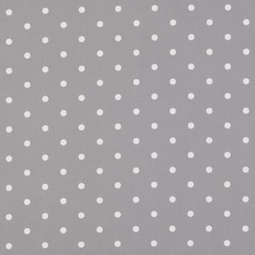 Oilcloth - Dotty in Smoke