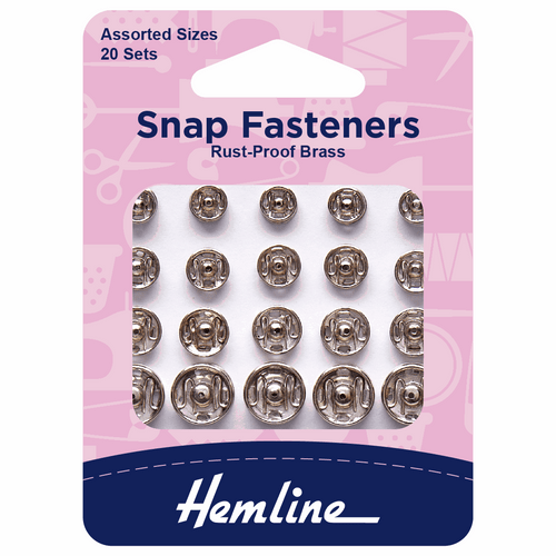 Snap Fasteners- Assorted