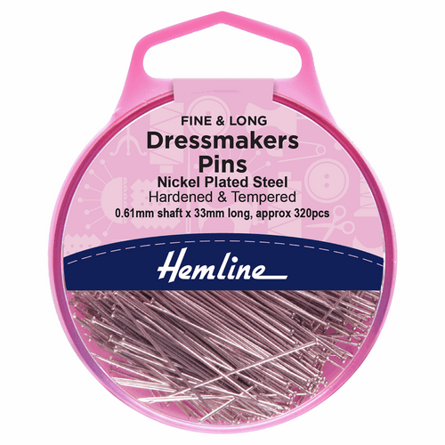 dress pins, sewing pins