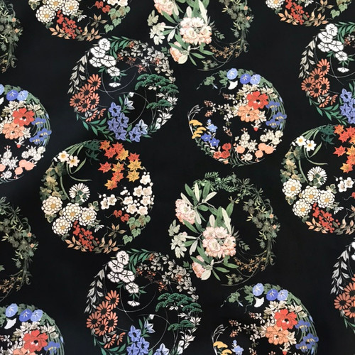 Lady McElroy Circles of the Orient Cotton Lawn