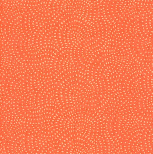 Twist Spot Fabric in Coral