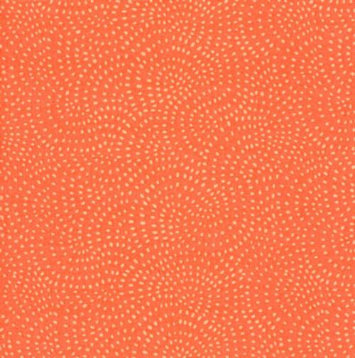 Twist Spot Fabric in Coral
