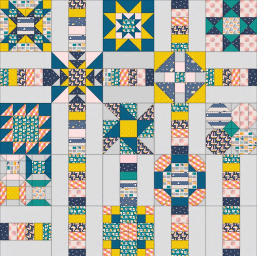 FREE Sunshine Island Quilt Sew Along- Quilt & Bind part 1