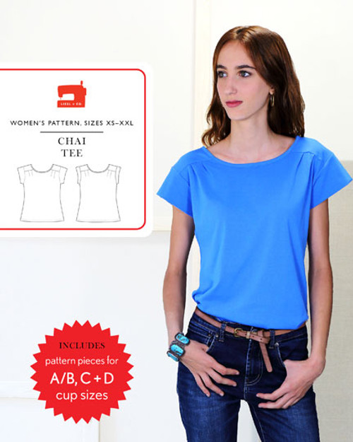 Chai Tee Sewing Pattern by Liesl + Co