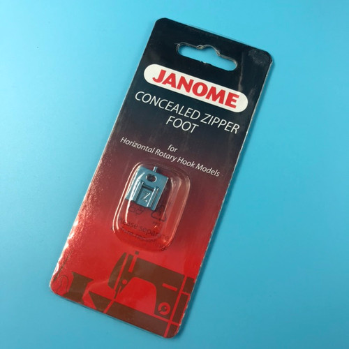 Janome Concealed Zipper Foot - Cat B/C