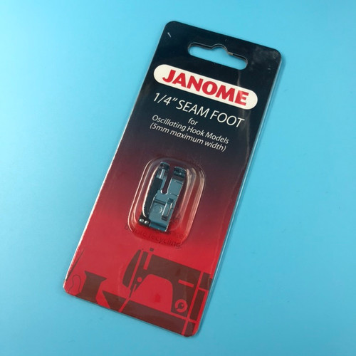 Janome 1/4 Inch Seam Foot - Cat A