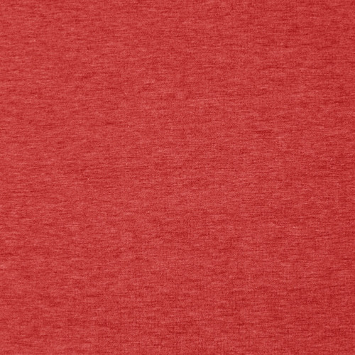 Heathered Jersey in Brick Red