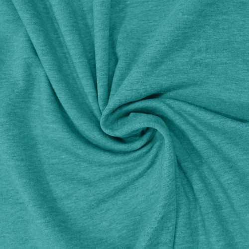 Heathered Jersey in Teal