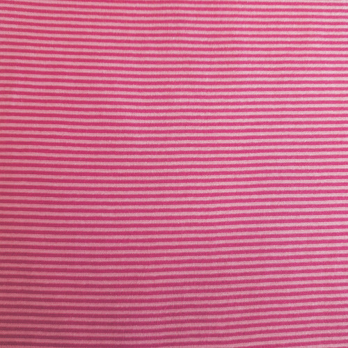 Tubular Cotton Ribbing Stripe in Pink