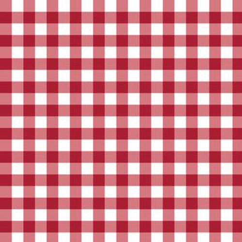 Mixology Gingham Check in Ruby