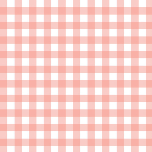 Mixology Gingham Check in Blush