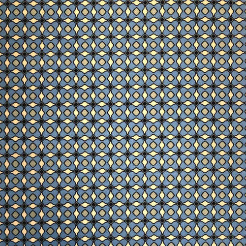 Anna Bella Mosaic in Cobalt
