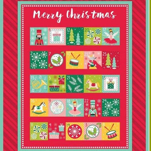 Nutcracker by Stuart Hillard - Advent Calendar Panel