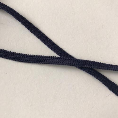 Elastic - 0.5 cm wide - 1 metre piece - Navy