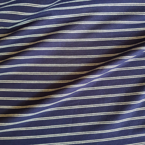 stripe viscose jersey