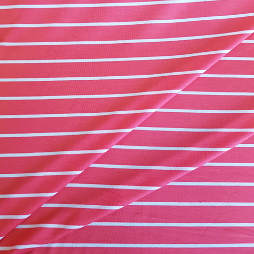 stripe viscose jersey