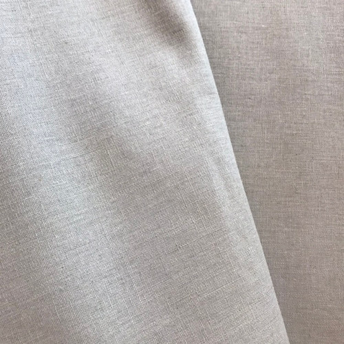 Cotton Linen by Makower in Light Grey