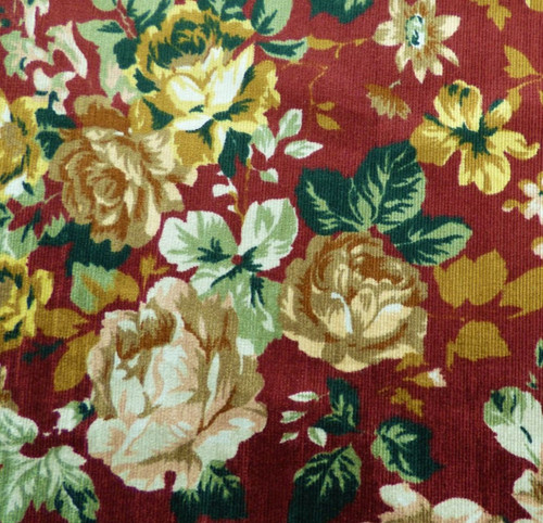 Lady McElroy Chatsworth  Cord in Rouge