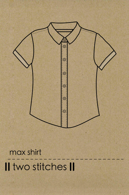 Max Shirt by Two Stitches Patterns